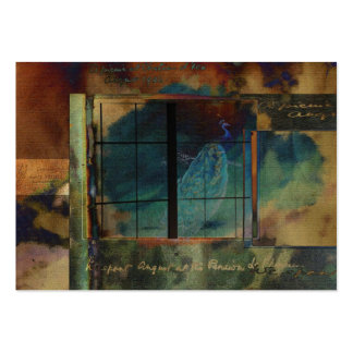 Through a Glass Darkly Gift Tag Large Business Card