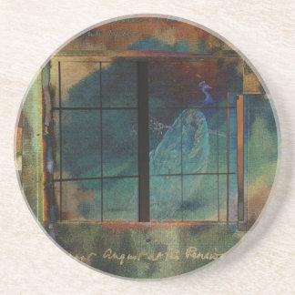 Through a Glass Darkly Sandstone Coaster