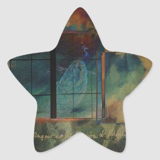 Through a Glass Darkly Star Sticker