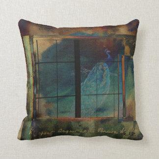 Through a Glass Darkly Throw Pillow