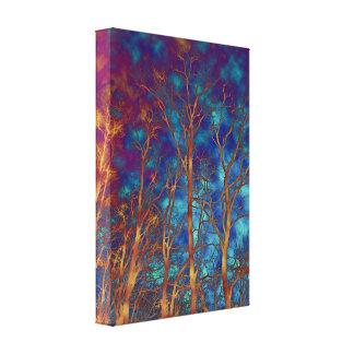 Through a Wood Darkly Canvas Print