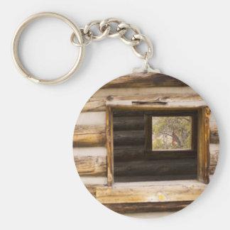 Through and Through Cabin Window Keychain