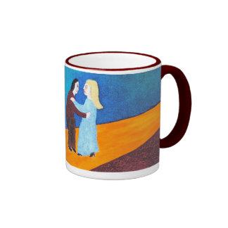 Through Dark Values Ringer Coffee Mug