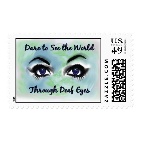 Through Deaf Eyes postage stamp