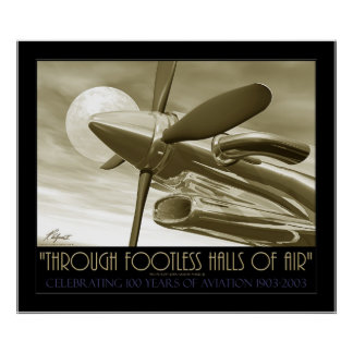 Through Footless Halls Of Air Posters