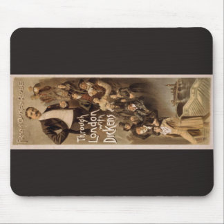 Through London with Dickens, 'Frank Oakes Rose' Mousepads