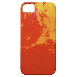 Through red glass iPhone 5 cover