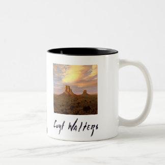 Through the Ages Two-Tone Coffee Mug