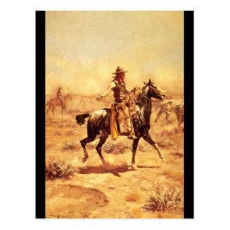 Through the Alkali', Charles_Art of America Postcard