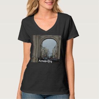 Through the Arches - Plaza de Armas-Arequipa, Peru T-shirt