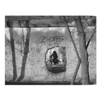 Through the Berlin Wall III Post Card