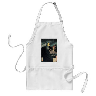 Through The Crashing Waters Of Endless Night Adult Apron