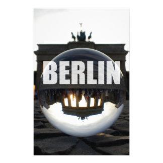Through the crystal ball, Brandenburg Gate Stationery