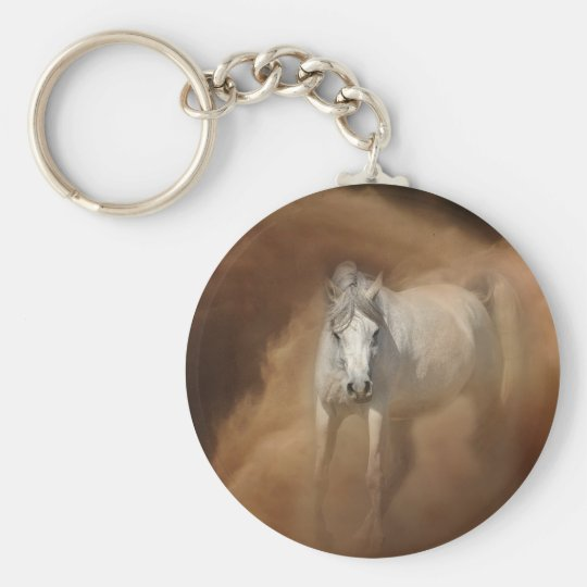 Through the dust storm keychain