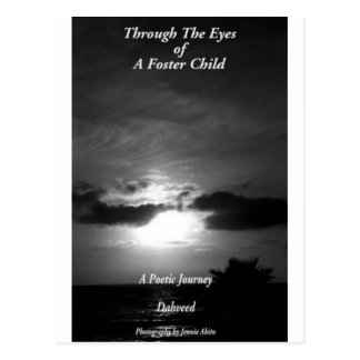 Through The Eyes of A Foster Child Postcard