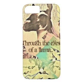 Through the eyes of a llama... iPhone 8/7 case