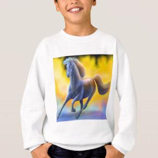 Through the Fire Horse Kids Sweatshirt