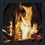"Through the Flames Bandana<br><div class=""desc"">A summer backyard bonfire.</div>"