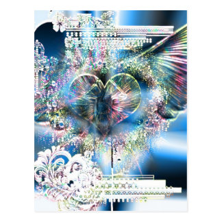 Through The Heart (Christmas Edition 2) Post Card