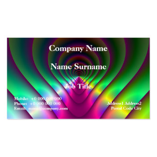 Through the Keyhole Business Card Pack Of Standard Business Cards