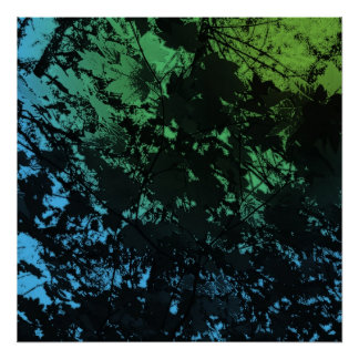 through the leaves again posters
