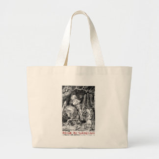 Through The Looking Glass - Design #1 Large Tote Bag