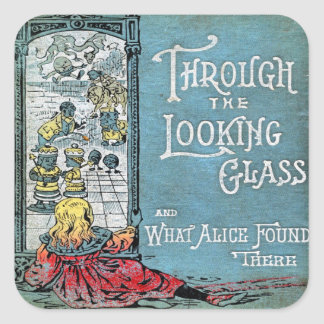 Through the Looking Glass Sticker