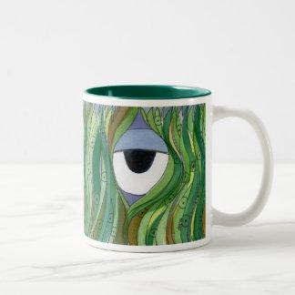 Through the Looking Grass mug