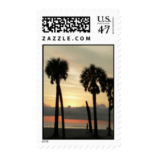 Through the Palms Postage
