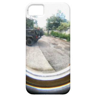 Through The Peephole iPhone SE/5/5s Case