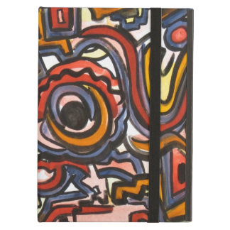 Through The Portal-Abstract Art Geometric Case For iPad Air