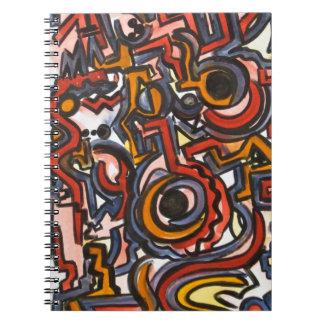 Through The Portal - Abstract Art Notebook