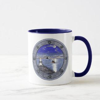 Through the Porthole, Scenic Mug