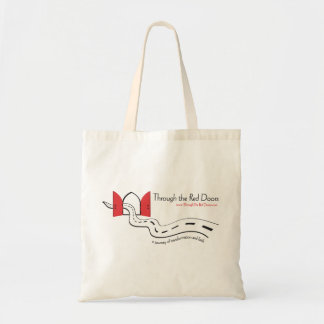 Through the Red Doors Tote Bags