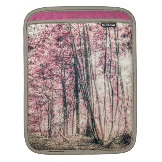 Through the Red Forest iPad Sleeves
