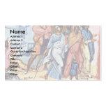 Through The Red Sea By Byzantinischer Maler Um 920 Business Card Templates