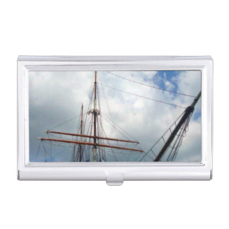 Through the Rigging Business Card Case