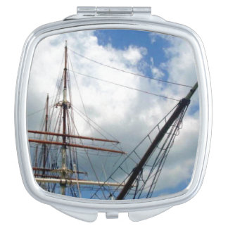 Through the Rigging Square Shaped Mirror For Makeup