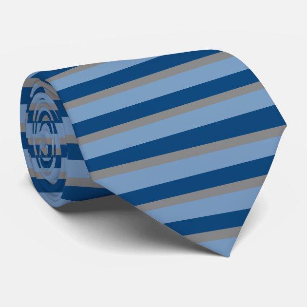 through the horizontal striped tie zazzle
