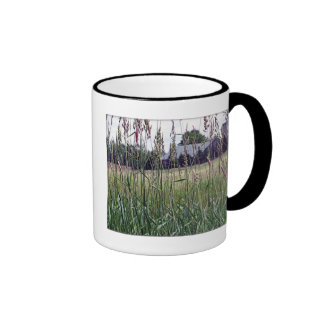Through The Tall Grass Ringer Mug