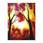 Through the Trees Gallery Wrapped Canvas