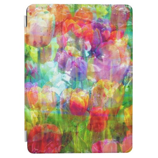 Through The Tulips iPad Air Cover