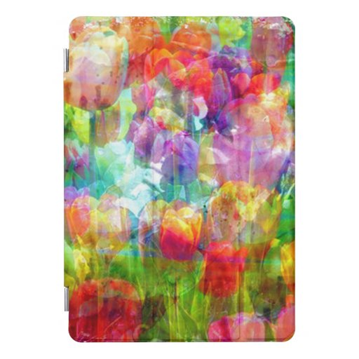 Through The Tulips iPad Pro Cover