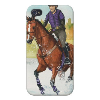 Through the Water, Eventing Equestrian Cover For iPhone 4