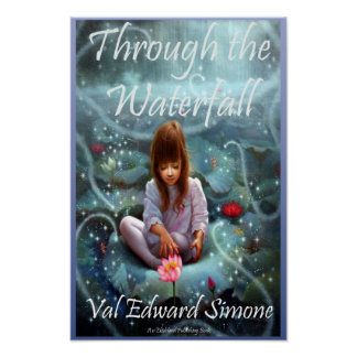 Through the Waterfall Cover Poster