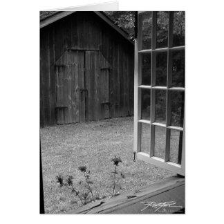 Through The Window Card