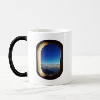 Through the Window, See the World! Coffee Mugs