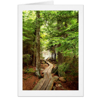Through the Woods Stationery Note Card