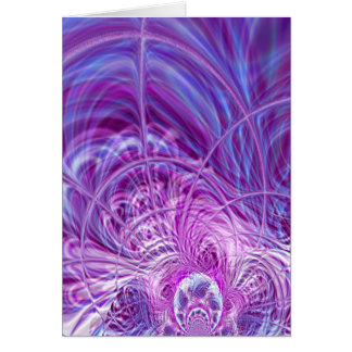 Through the Wormhole Abstract Card