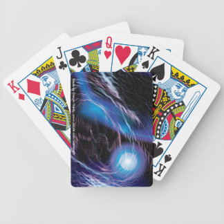 Through the Wormhole Bicycle Playing Cards